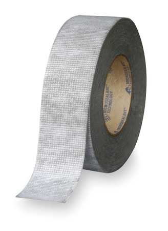 Roof Repair Tape, Size 2 In x 50 Ft, Gray