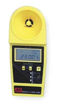 Cable Height Meter, 6 Lines 10 to 50 feet