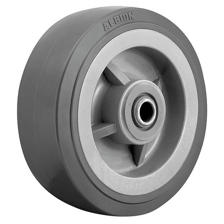 Caster Wheel, 4 in., 600 lb., Gray Core