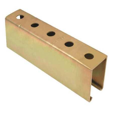 "Strut Channel, 1-1/2"" W, 10 ft. L, Gold"