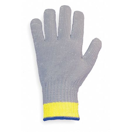 Cut Resistant Glove, Gray, Reversible, S
