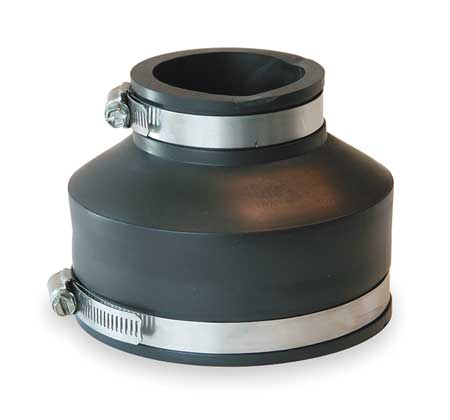"Flexible Coupling, For Pipe Size 4"" x 2"""