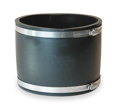 "Flexible Coupling, For Pipe Size 6"" x 6"""