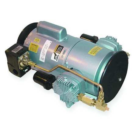 Piston Air Compressor, 1/2HP, 115/230V, 1Ph