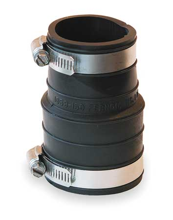 Flexible Coupling, Pipe Size 1-1/2x1-1/2""
