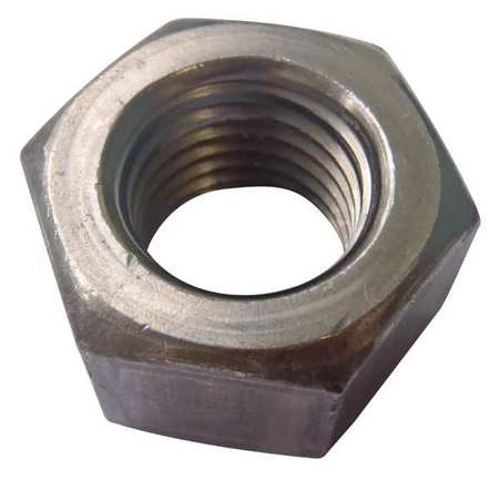 """5/8""""-11 Grade A Zinc Plated Finish Carbon Steel Heavy Hex Nuts,  25 pk."""