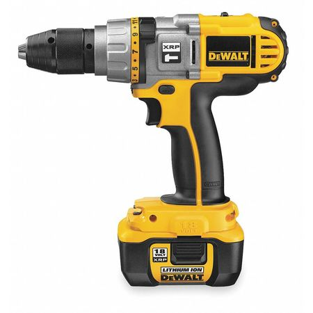 Hammer Drill/Driver Kit, 9-1/2 In.
