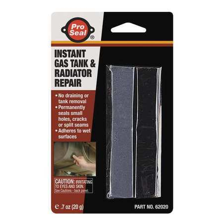 Putty, Gas Tank/Radiator, 0.70 Oz Strips