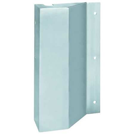 Door Latch Cover, Satin Stainless Steel