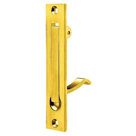 Recessed Folding Pull Handle, Cast Brass