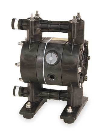 "1/2"" Kynar Air Double Diaphragm Pump 15 GPM 212F"