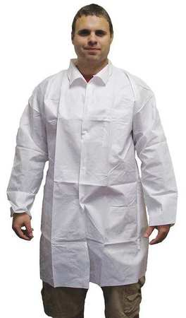 Lab Coat, M, Body Filter 95+(TM), PK50