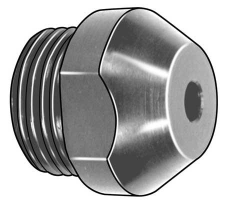 Nosepiece, Steel, M6