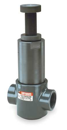 Pressure Regulator, 1/2 In, 5 to 75 psi
