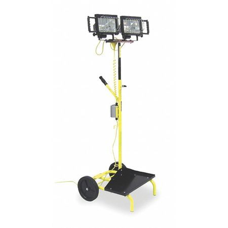 3HMK4 Temp Job Site Cart Light, 120V,  1000W