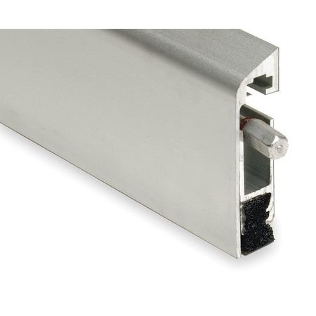 Automatic Door Bottom, 1/4x36In, Aluminum