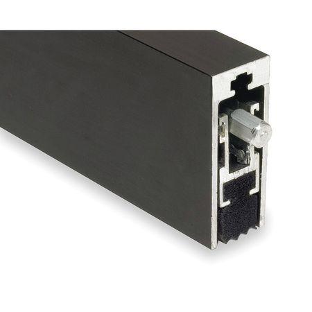 Automatic Door Bottom, 1/2x36In, Aluminum