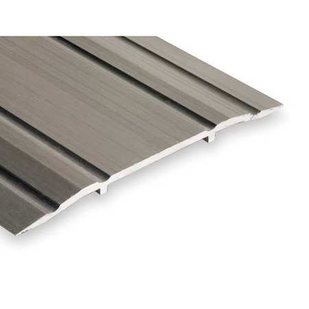 Saddle Threshold, Fluted Top, 4 ft., Alum