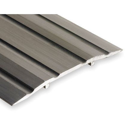 Saddle Threshold, Fluted Top, 6 ft., Alum