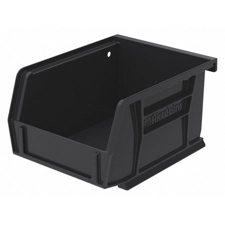 Hang/Stack Bin, 5-3/8 x 4-1/8 x 3, Black