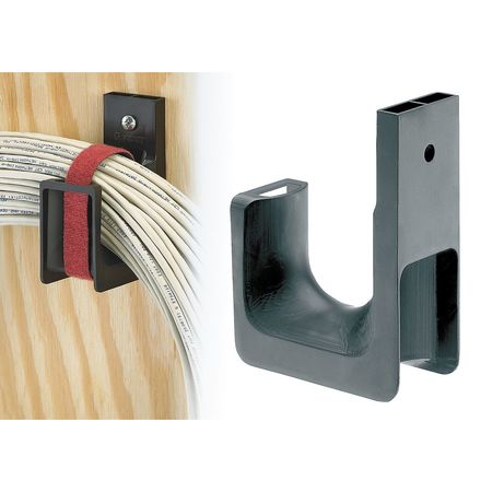 J Hook, Wall Mount, 1.31 In, PK10