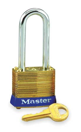 "Keyed Padlock, Different, 1-1/8""W"