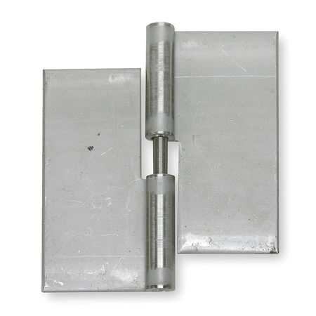 Lift-Off Hinge, Natural, 3 x 2 In.