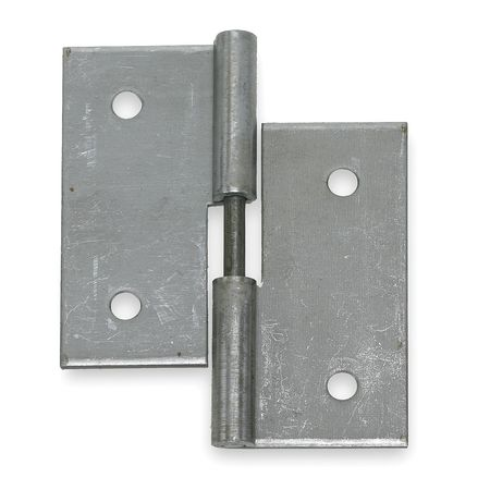 Lift-Off Hinge, Natural, 4 x 4 In.