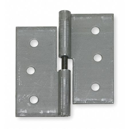 Lift-Off Hinge, Natural, 2-1/2 x 1-7/8 In.