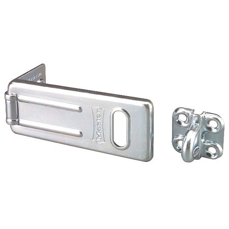 Hasp, Fixed, Steel, Zinc Plated, 3-1/2 In. L