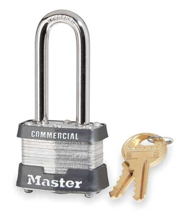 "Keyed Padlock, Alike, 1-9/16""W"