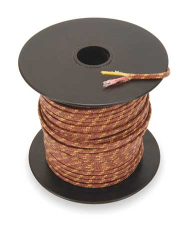 Thermocouple Lead Wire, K, 20AWG, Str, 100Ft