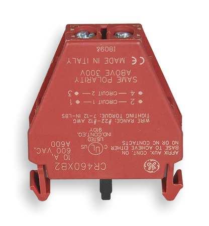 Lighting Contactor Aux Contact Block, 2P