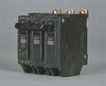 3P High Interrupt Capacity Circuit Breaker 20A 240VAC