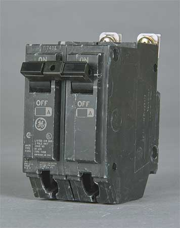 2P Standard Bolt On Circuit Breaker 20A 120/240VAC
