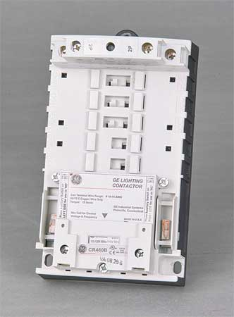 277VAC Electrically Held Lighting Contactor 2P 30A