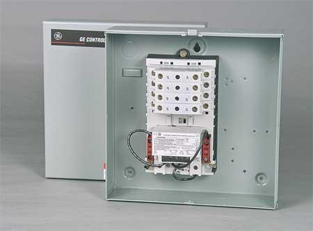 Lighting Contactr, 8P, 120V, NEMA1, MechHeld