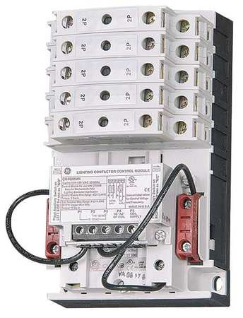 120VAC Mechanically Held Lighting Contactor 12P 30A