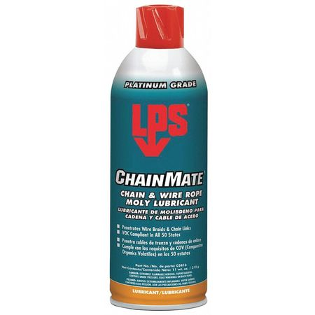 Chain and Wire Rope Lubrcnt, Aerosol, 11oz