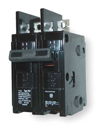 2P Standard Bolt On Circuit Breaker 15A 120/240VAC
