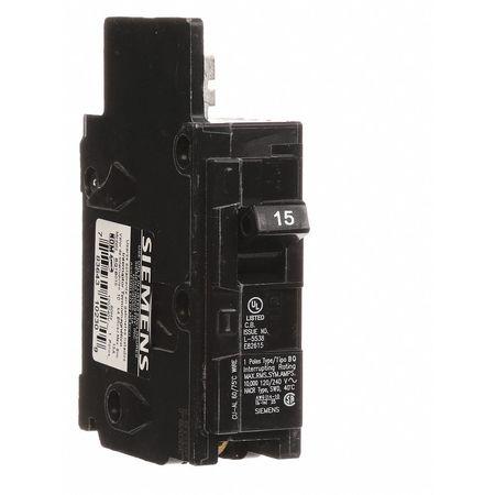 1P Standard Bolt On Circuit Breaker 15A 120/240VAC