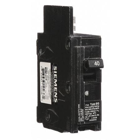 1P Standard Bolt On Circuit Breaker 40A 120/240VAC