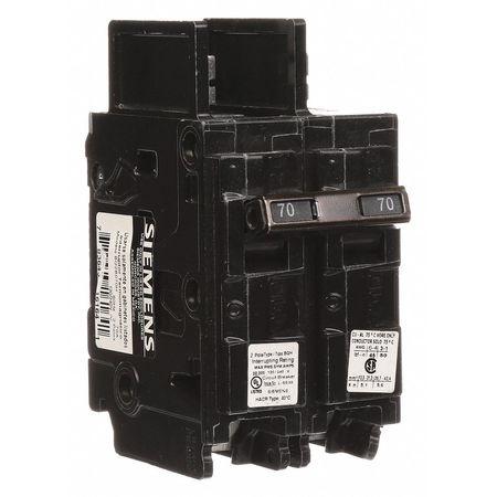 2P High Interrupt Capacity Circuit Breaker 70A 120/240VAC