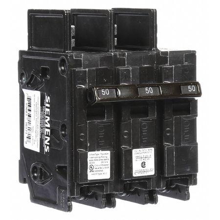 3P High Interrupt Capacity Circuit Breaker 50A 240VAC