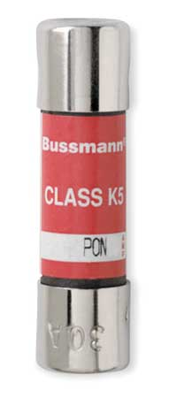 30A Time Delay Fiberglass Low Voltage Fuse 250VAC