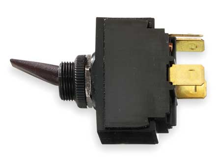 Toggle Switch, DPST, 4 Conn., On/Off