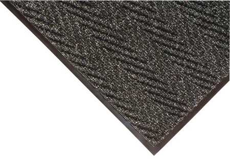 Carpeted Entrance Mat, Charcoal, 3ft.x5ft.