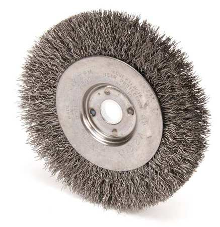 Crimped Wire Bench Grinder Wheels