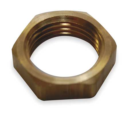 Valve Body Locknut, Rough Brass