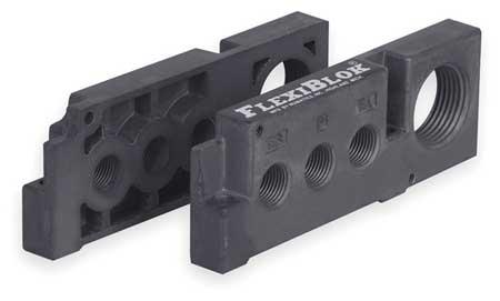 End Plate Kit, Mark 8 Manifold Blocks